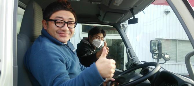 幕張メッセへ向けて大阪スタッフ出発!