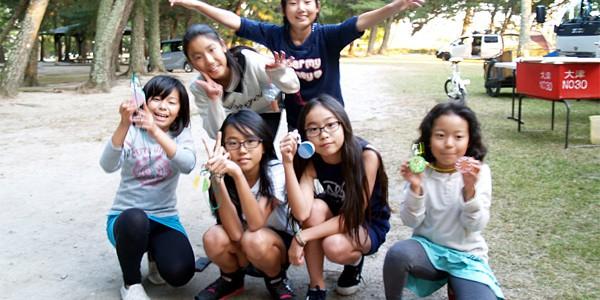 キャンプ大会2015inびわ湖 ④バードコール作り