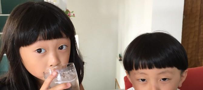 暑い日には!!梅ジュース!!でございます!!