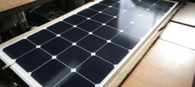 ソーラーパネル取付作業