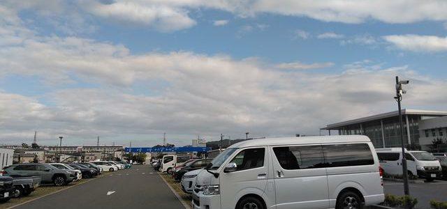 本日の新規検査と大阪キャンピングカーフェア