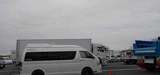 本日の新規検査と新たな入庫車両