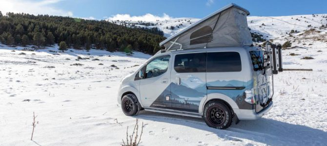 e-NV200 Winter Camper concept
